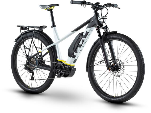 """Husqvarna GT4 E-trekkingcykel 27,5"""" hvid/sort"""